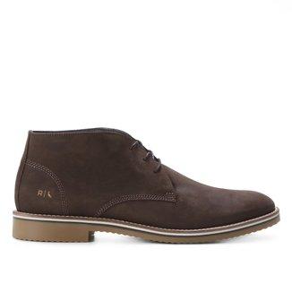 Sapato Casual Couro Reserva Demi Boot Lipe Cano Médio Masculino