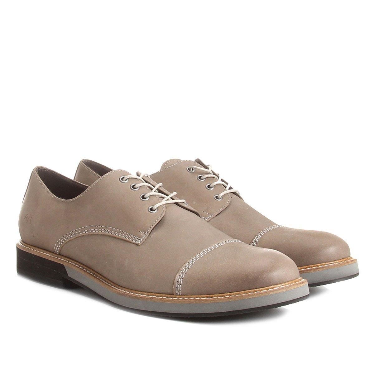 Claro Sapato Casual Sapato Casual Cinza Reserva Rick Couro wB8UR0w