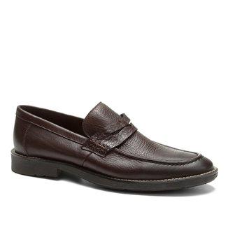 Sapato Casual Couro Shoestock Loafer