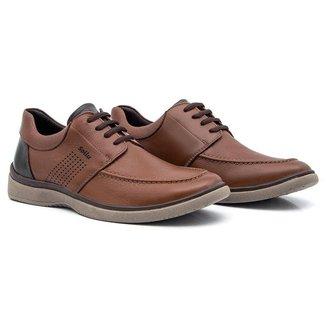 Sapato Casual Couro Soft Campton Sollu Masculino