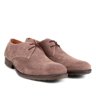 Sapato Casual Couro Walkabout Camurça Masculino