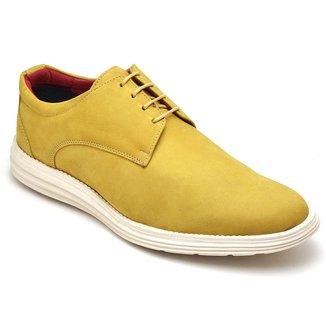 Sapato Casual em Couro D&R Shoes Masculino