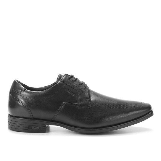 Sapato Casual Ferracini Bico Fino Feminino - Preto