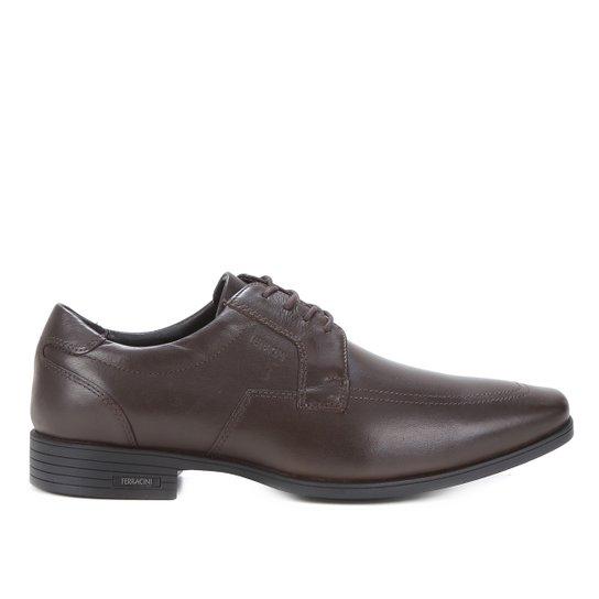 Sapato Casual Ferracini Masculino - Café