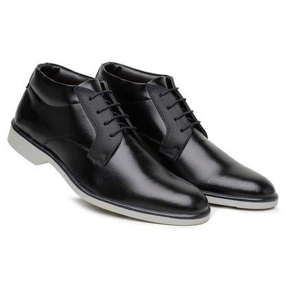 Sapato Casual Masculino Cano Médio Amarração Confortável
