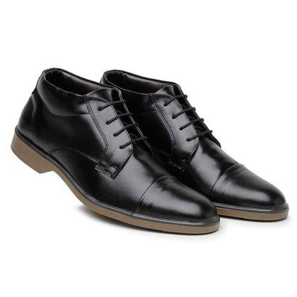 Sapato Casual Masculino Cano Médio Confortável
