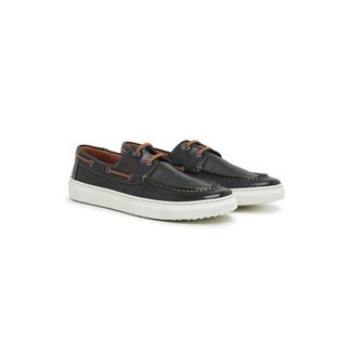 Sapato Casual Masculino Couro Leve Macio Conforto Dia a Dia