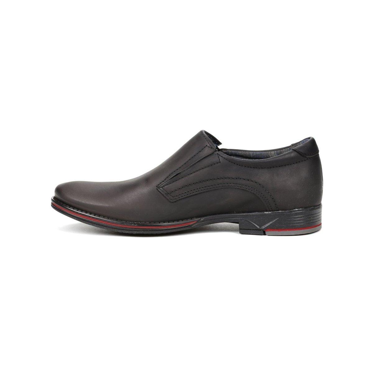 23d5f00006 Sapato Casual Masculino Pegada Preto - Preto - Compre Agora