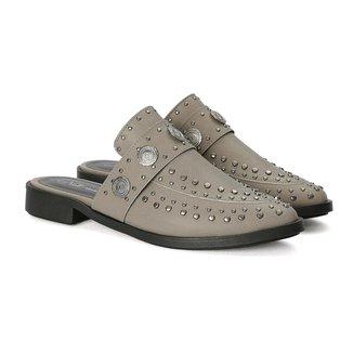 Sapato Casual Mule Tachas Napa Sintético Not-me Feminino