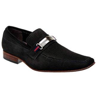 Sapato Casual Nobuck Aveludado Bigioni