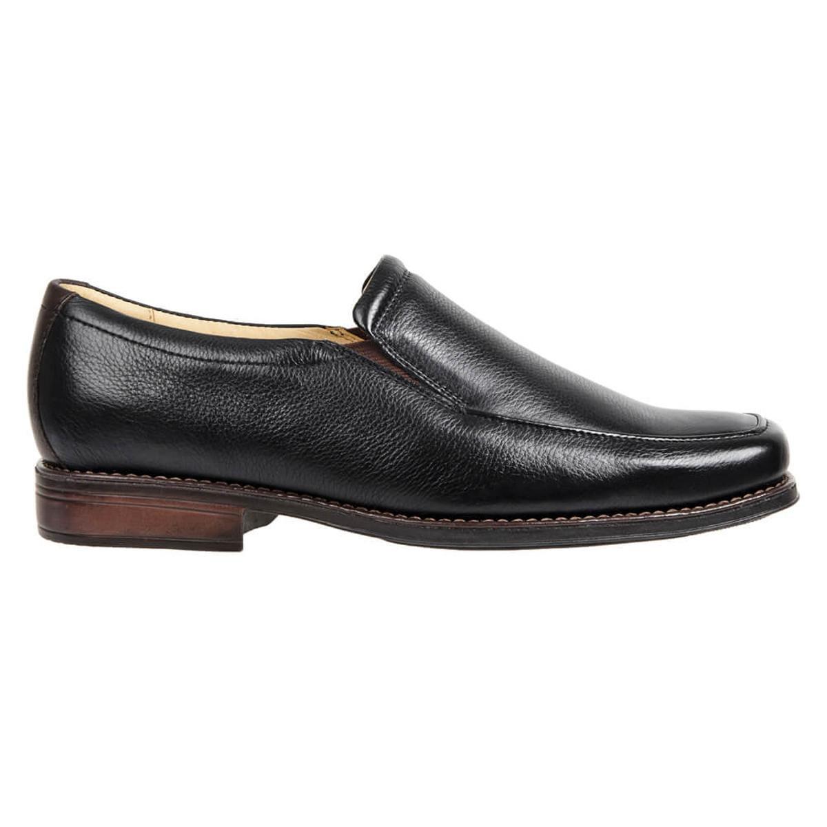 Sapato Casual Side Gore Sandro&CO Panor Masculino - Preto