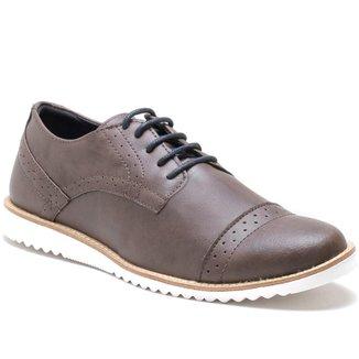Sapato Casual Social Cadarço Conforto Masculino
