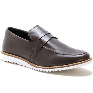 Sapato Casual Social Conforto Masculino