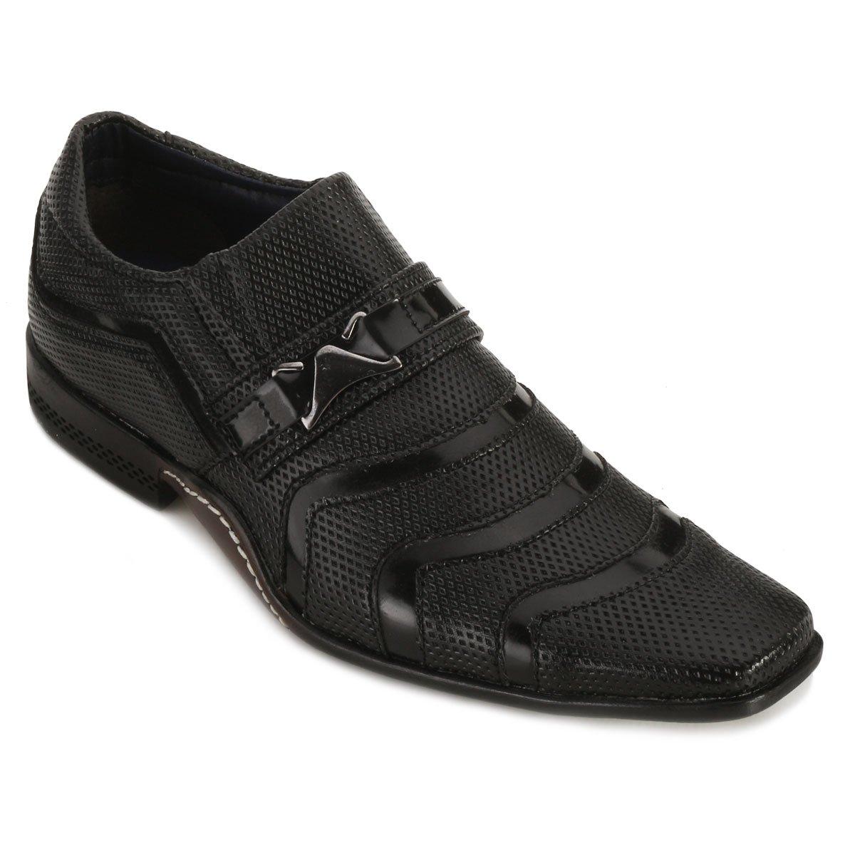 masculino casual Tratos Tratos Preto masculino casual Preto Sapato Sapato Sapato qxa0YF8wA