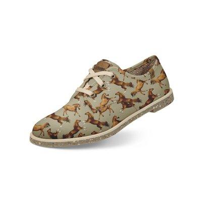 Sapato Casual Usthemp Legend Vegano Temático Cavalo Feminino
