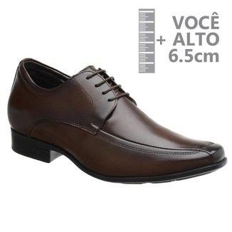 Sapato Com Salto Interno Jota Pe Marrom Air 71353 M