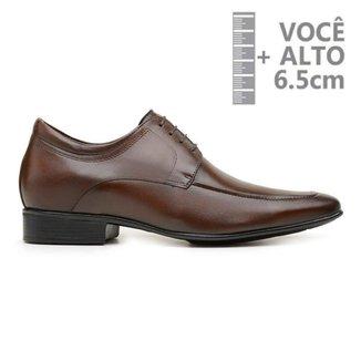 Sapato Com Salto Interno Jota Pe Marrom Air 79501