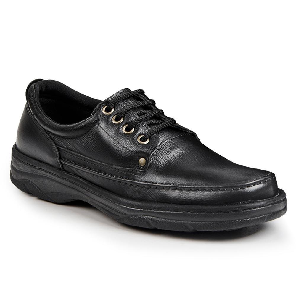 Pizaflex Masculino Confort Masculino Confort Sapato Preto Pizaflex Sapato YwXqOTf
