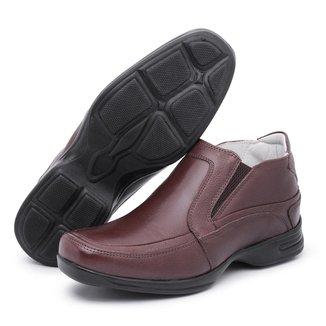 Sapato Conforto Couro Top Franca Shoes Masculino