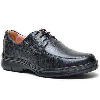 Sapato Conforto DED Calçados Social Com Cadarço Masculino