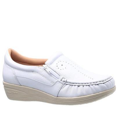 Sapato Conforto Esporão 200  Couro Doctor Shoes Fiminino-Feminino
