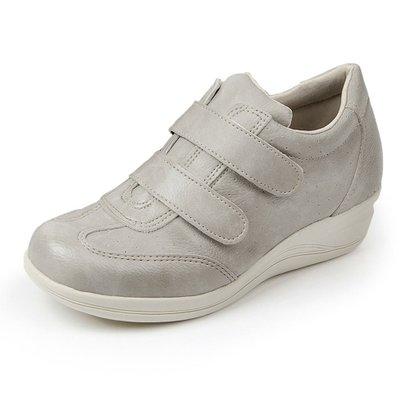 Sapato Conforto Pizaflex Confort Antistress Feminino-Feminino