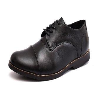 Sapato Couro Carmelo Shoes Casual Masculino