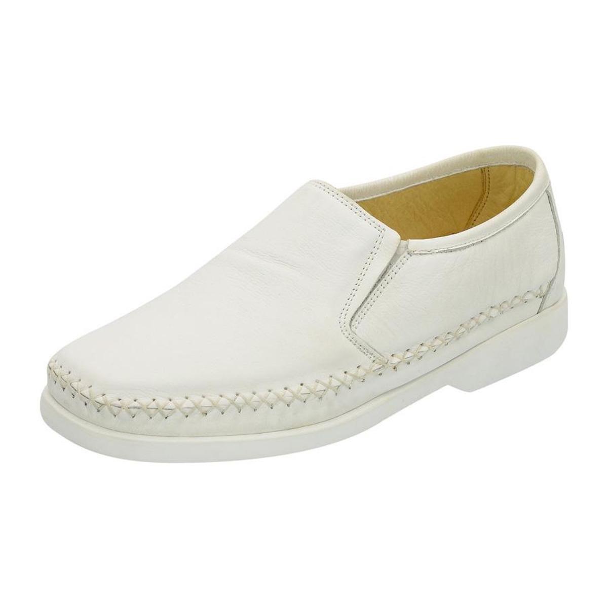 Masculino Couro Couro G Sapato Way Masculino Way Casual G Branco Casual Sapato Z1SwCCq