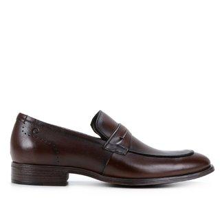 Sapato Couro Democrata Smart Comfort Madison Hi-Soft Masculino