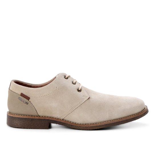 Sapato Couro Ferracini Bangkok Rustic Masculino - Areia
