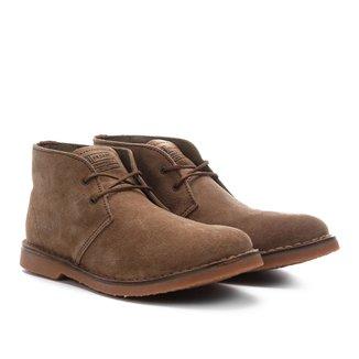 Sapato Couro Kildare Camurção Cano Médio Masculino