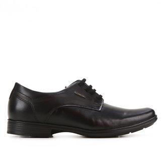 Sapato Couro Pegada Liso Verniz Masculino