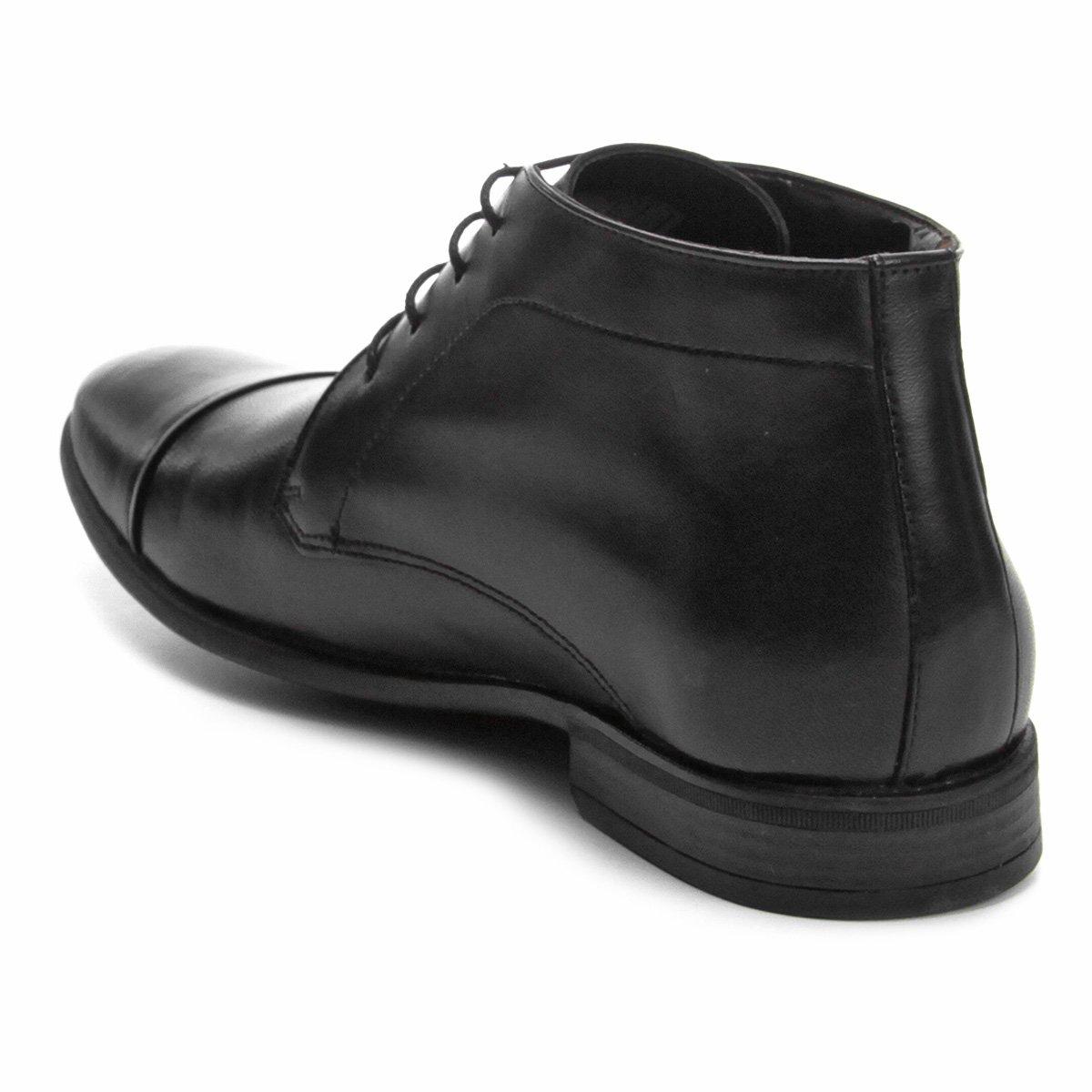 Walkabout Preto Masculino Sapato Walkabout Couro Social Masculino Couro Social Sapato WUq1nRF0w