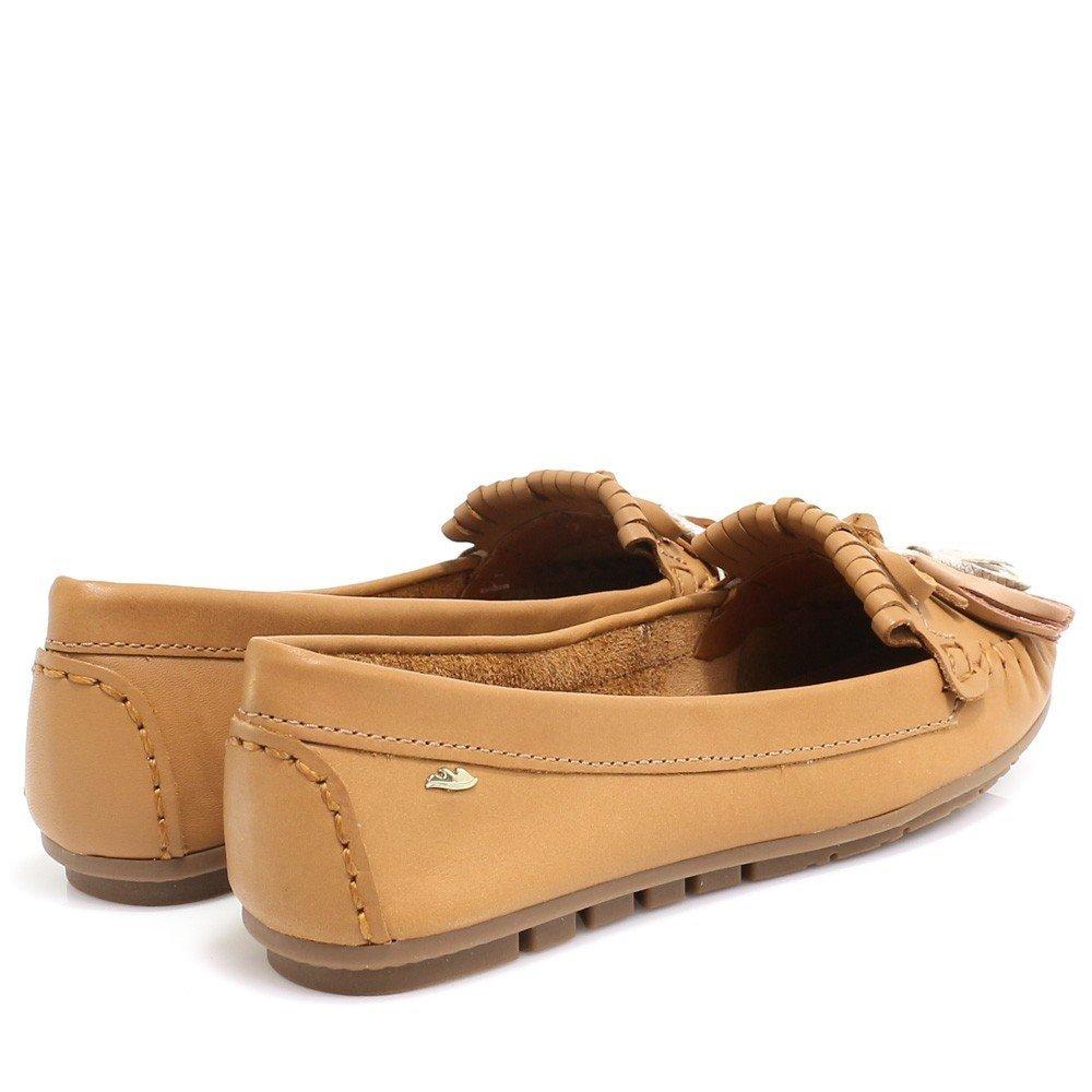 Sapato Mocassim Sapato Caramelo Sapato Barbicacho Dakota com Barbicacho Caramelo com Dakota Mocassim Dakota ERTCwTq6x