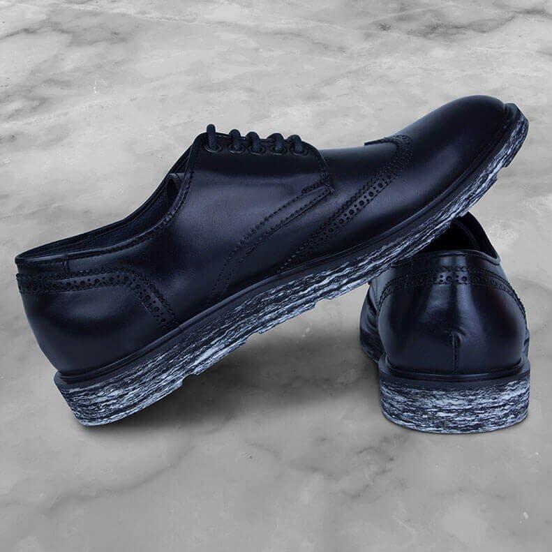 Sapato e Sapato DIEM Couro Preto ALIUS Branco Oxford DIEM F5nnU7x
