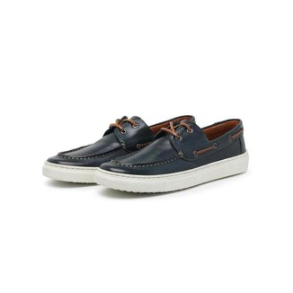 Sapato Dockside Masculino Couro Confortável Casual