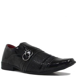 Sapato Eleganci Casual Verniz Masculino