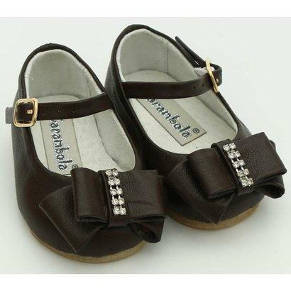 Sapato Em Couro Carambola-Feminino
