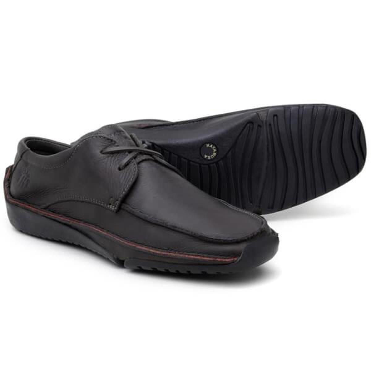 Sapato Em Couro Hayabusa Duna 60 - Chocolate Masculino - Marrom
