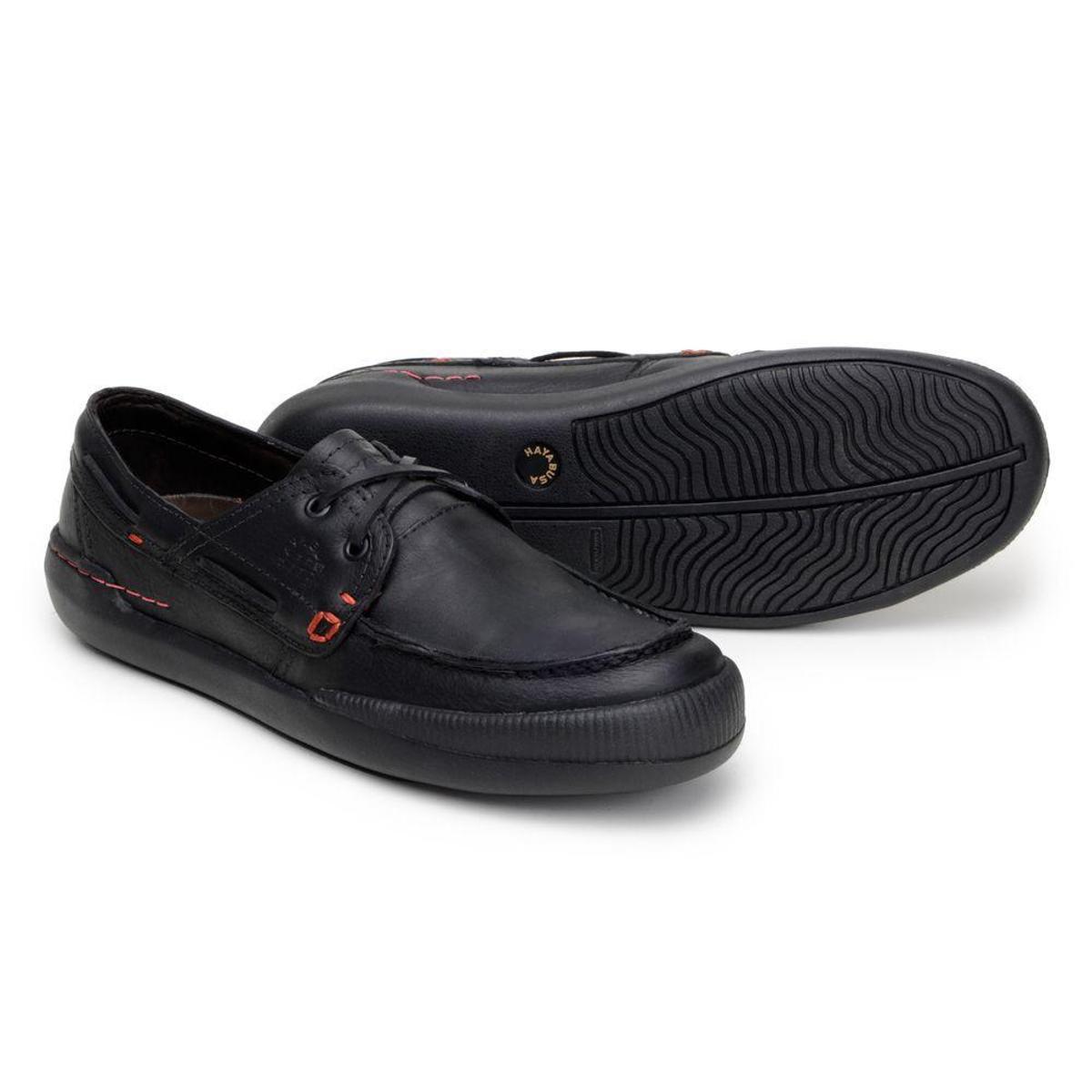 Sapato Em Couro Hayabusa Z 20 - Masculino - Preto