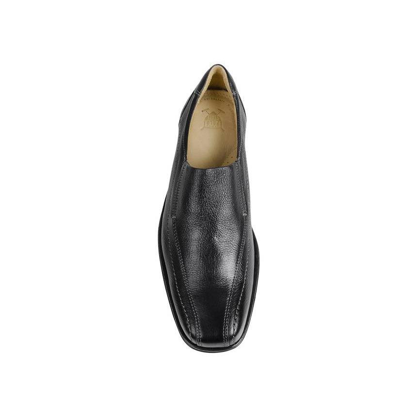 62046 Couro Sapato Sapato Em James Preto New Em OvpYqz