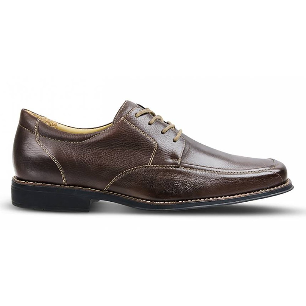 Sapato Couro Shoes Em Café Dress Sapato 17036 State Em Polo rwUTxtgWrq