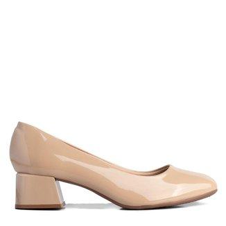 Sapato Feminino Beira Rio Bege