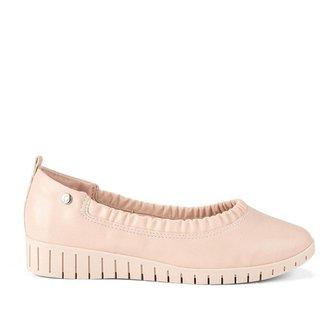 Sapato Feminino Confortável Campesí Manila Camélia L7961
