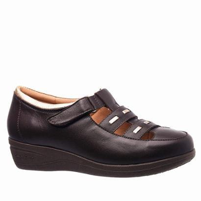Sapato Feminino Esporão Em Couro Glace Doctor Shoes-Feminino