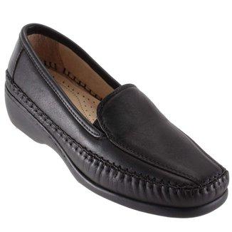 Sapato Feminino Gasparini Mocassim Conforto