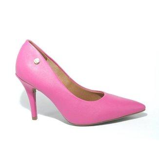 Sapato Feminino Vizzano Scarpin Salto Alto Fino Rosa Pink