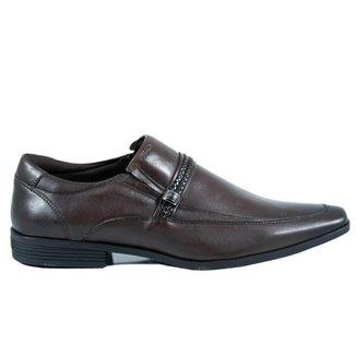 Sapato Ferracini Masculino Liverpool Napa de Couro Marrom