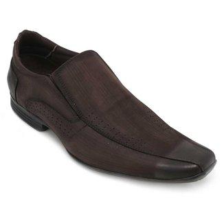 Sapato Focal Flex Couro Masculino
