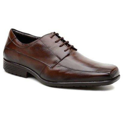 199f31b761 Sapato Gallipoli Masculino Couro Legítimo com Cadarço Bico Quadrado -  Compre Agora